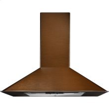 "36"" Oiled Bronze Wall-Mount Canopy Hood"