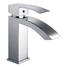 JEM Collection single-hole, single-lever lavatory faucet with pop-up waste.