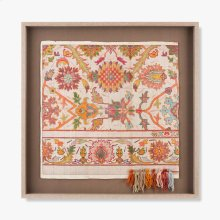 0300980041 Vintage Rug Map Wall Art