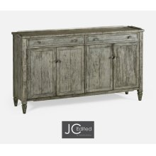 Four-Door Sideboard in Antique Dark Grey