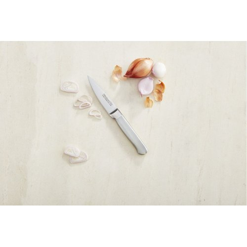 Classic Forged 3.5-Inch Brushed Stainless Paring Knife - Stainless Steel