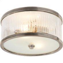 Visual Comfort AH4200AN-FG Alexa Hampton Randolph 2 Light 11 inch Antique Nickel Flush Mount Ceiling Light