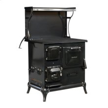Black Blackwood Wood Cookstove
