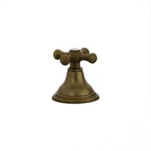Asbury - Deck Diverter Trim - Unlacquered Brass