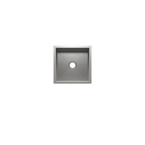 "UrbanEdge® 003668 - undermount stainless steel Bar sink , 12"" × 12"" × 7"""