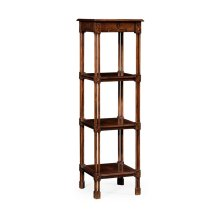 Chippendale gothic four-tier etag re