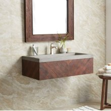 Cabernet Floating Vanity