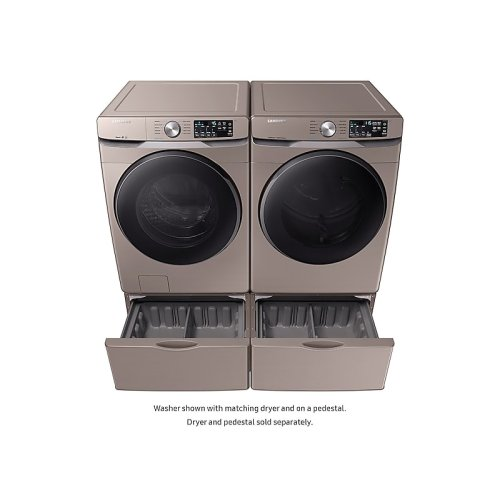 4.5 cu. ft. Front Load Washer with Steam in Champagne