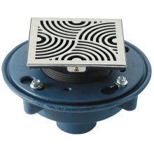 "DECO SWIRL STYLEDRAIN SET WITH 3"" NO-HUB"