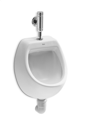 White Vitreous china urinal with top inlet Product Image