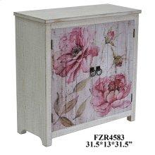 Botanical 2 Door Floral Cabinet