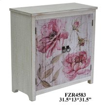 Botanical 2 Door Floral Cabinet
