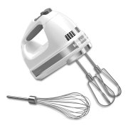 7-Speed Hand Mixer - White Product Image