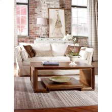 Moderne Square Coffee Table - 48""