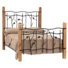 Sassafras Queen Iron Bed Product Image