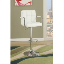 F1567 / Cat.19.p65- ADJUSTABLE BARSTOOL WHT