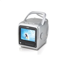 """5.6"""" TFT PORTABLE DVD/MP3/CD PLAYER and NTSC TV TUNER"""