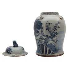 Small Tree Ceramic Vessel