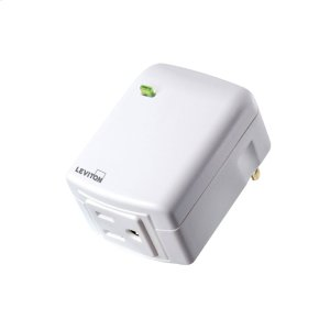 Leviton Decora Smart Plug-In Outlet (for Works with Ring Alarm Security System) - White Product Image