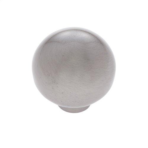 "Satin Nickel 1-1/8"" Ball Knob"