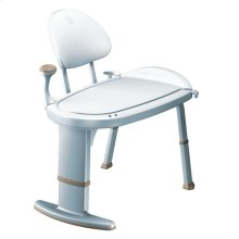 Moen Home Care glacier transfer bench