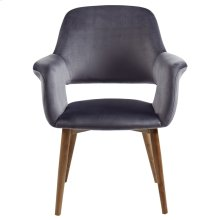 Miranda Accent & Dining Chair in Grey