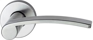 Satin Stainless Steel Lever Handle Product Image