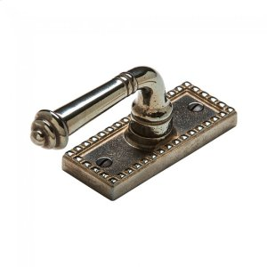 Corbel Rectangular Tilt & Turn Window Escutcheon - EW30700 Silicon Bronze Brushed Product Image
