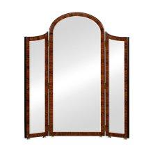 Art Deco Style Full Length Triple Dressing Mirror (High Lustre)