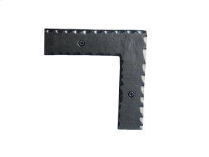 "6"" CORNER STRAP SQUARE END Product Image"