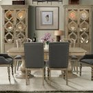 Corinne - Double Pedestal Dining Table Top - Sun-drenched Acacia Finish Product Image