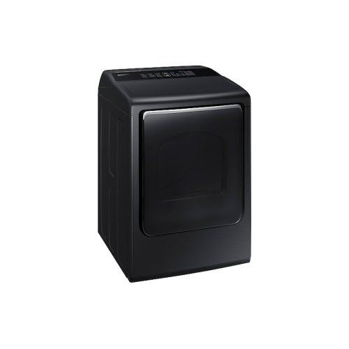 7.4 cu. ft. Gas Dryer with Integrated Controls in Black Stainless Steel