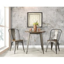 Indio Set With Round Table and 2 Chairs