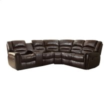 3-Piece Reclining Sectional with Left Console