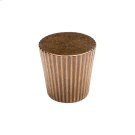 Flute Taper Knob - CK10030 Silicon Bronze Brushed Product Image
