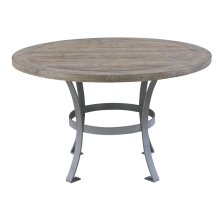 Emerald Home Interlude Round Dining Table Sandstone Gray D560-14-k