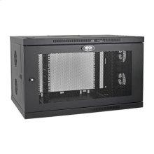SmartRack 9U Low-Profile Switch-Depth-Plus Wall-Mount Rack Enclosure Cabinet, Wide