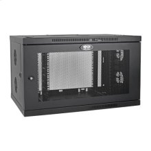 SmartRack 9U Low-Profile Switch-Depth-Plus Wall-Mount Rack Enclosure Cabinet, Wide