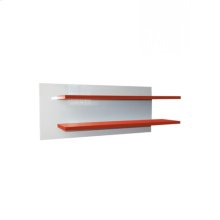 Wall Shelf Red/white
