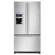 Full-Depth French Door Refrigerator with External Dispenser