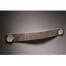 """Garage Handle Centers 13 7/8""""Brown Leather"""