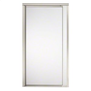 """Vista Pivot™ II Shower Door - Height 65-1/2"""", Max. Opening 36"""" - Nickel with Frosted Glass Pattern Product Image"""