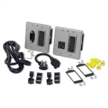 Max-In-Wall Power & Signal Bay, 15A Code Compliant Extension System
