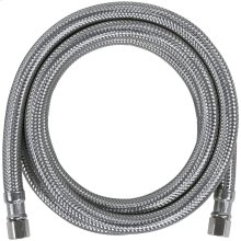 Braided Stainless Steel Ice Maker Connector, 5ft