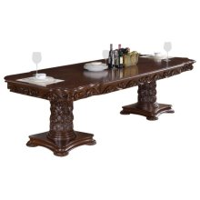 "Barcelona Dining Table - 120""L (84"" + 2 x 18"" Leaves) x 48""W x 32""H"