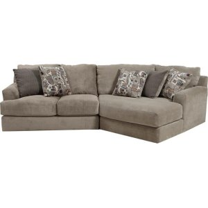 Malibu 3239 3 Pc. Sectional fabric-1983-36 Taupe