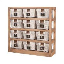 Locker Baskets With Shelves