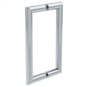 Symmons Extended Selection Double Door Pull - Polished Chrome