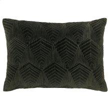 Sloan Velvet Pillow, LODEN, 14X20