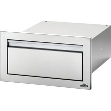 """18"""" X 8"""" Single Drawer , Stainless Steel"""